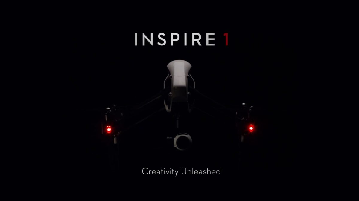 DJI Inspire 1紹介映像