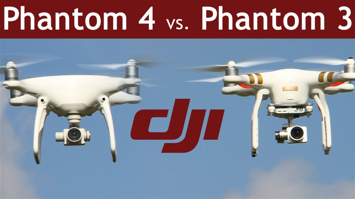 購入ガイド:DJI Phantom 4 vs Phantom 3