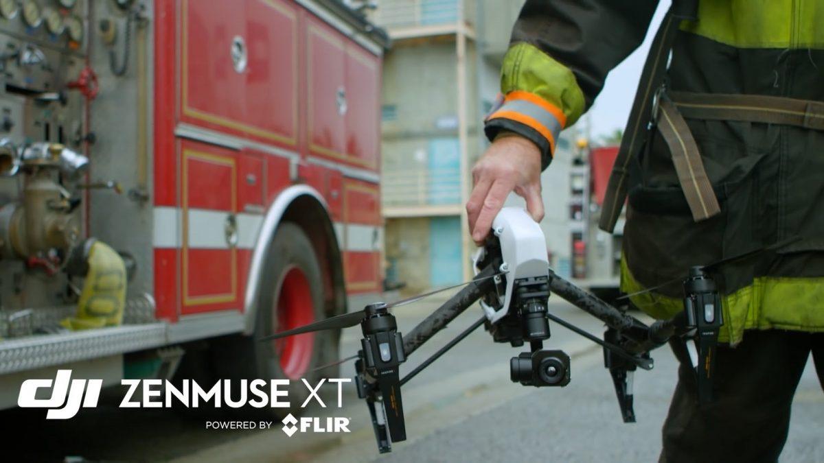 DJI 赤外線空撮カメラ Zenmuse XT