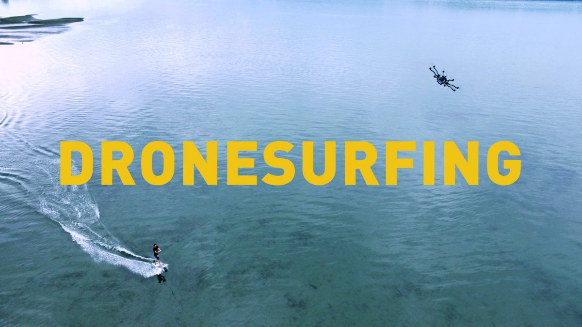 Freefly Systems Dronesurfing —- ドローンサフィンの紹介映像