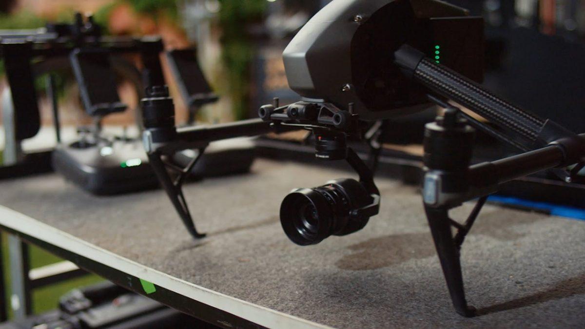 DJI Inspire 2 映像の裏側 – X5Sカメラ