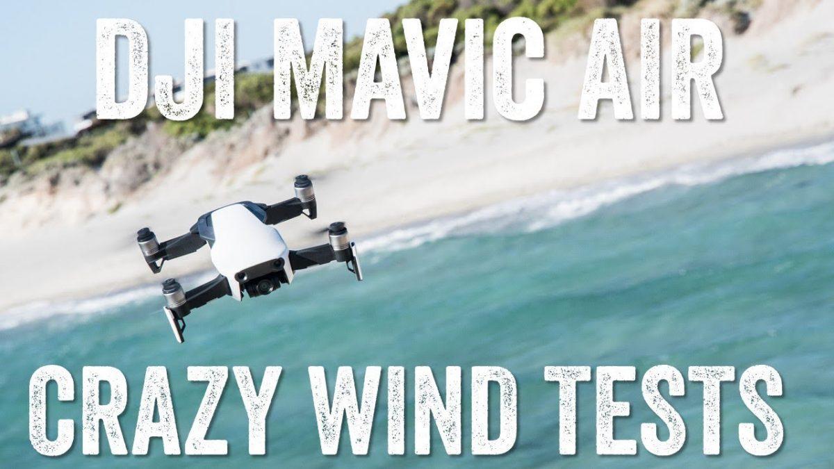 Mavicはどこまでの強風に耐えられるのか!?