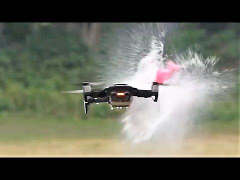 何これすごい!Mavic Airの耐久テストが度肝を抜いていた!!