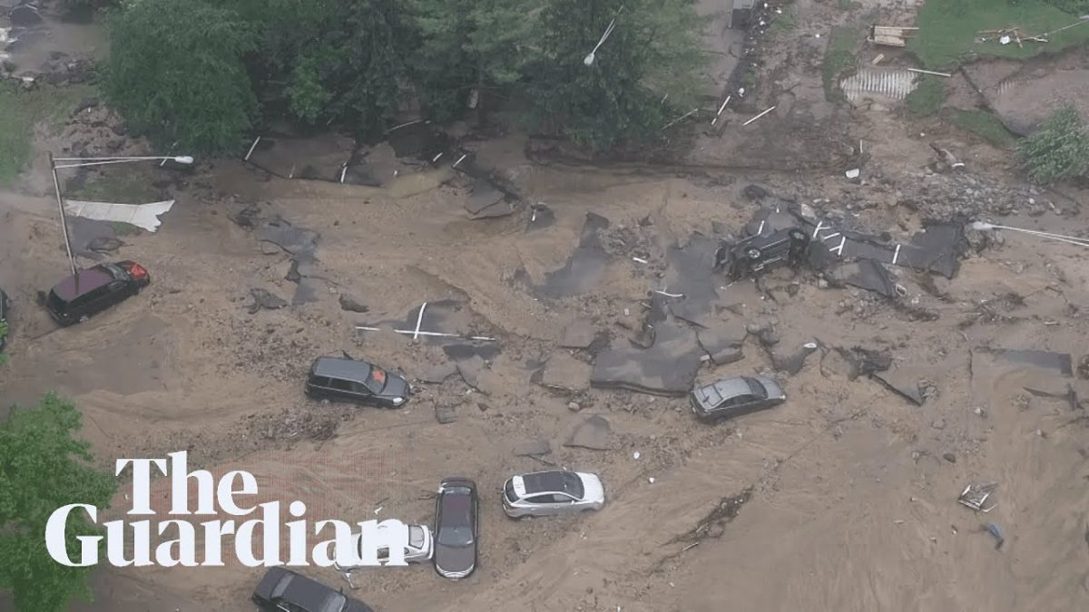メリーランド大洪水の空前の被害