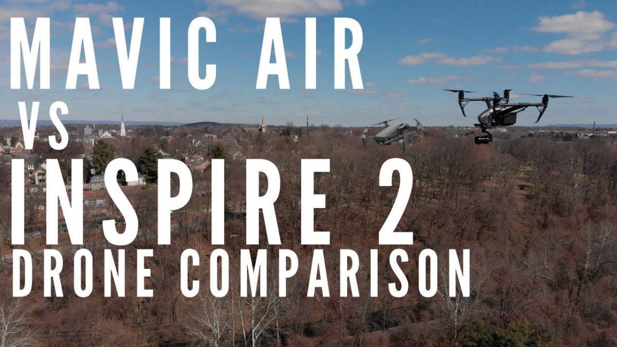 必見!Mavic Air vs Inspire 2 選ぶならどっちだ!?