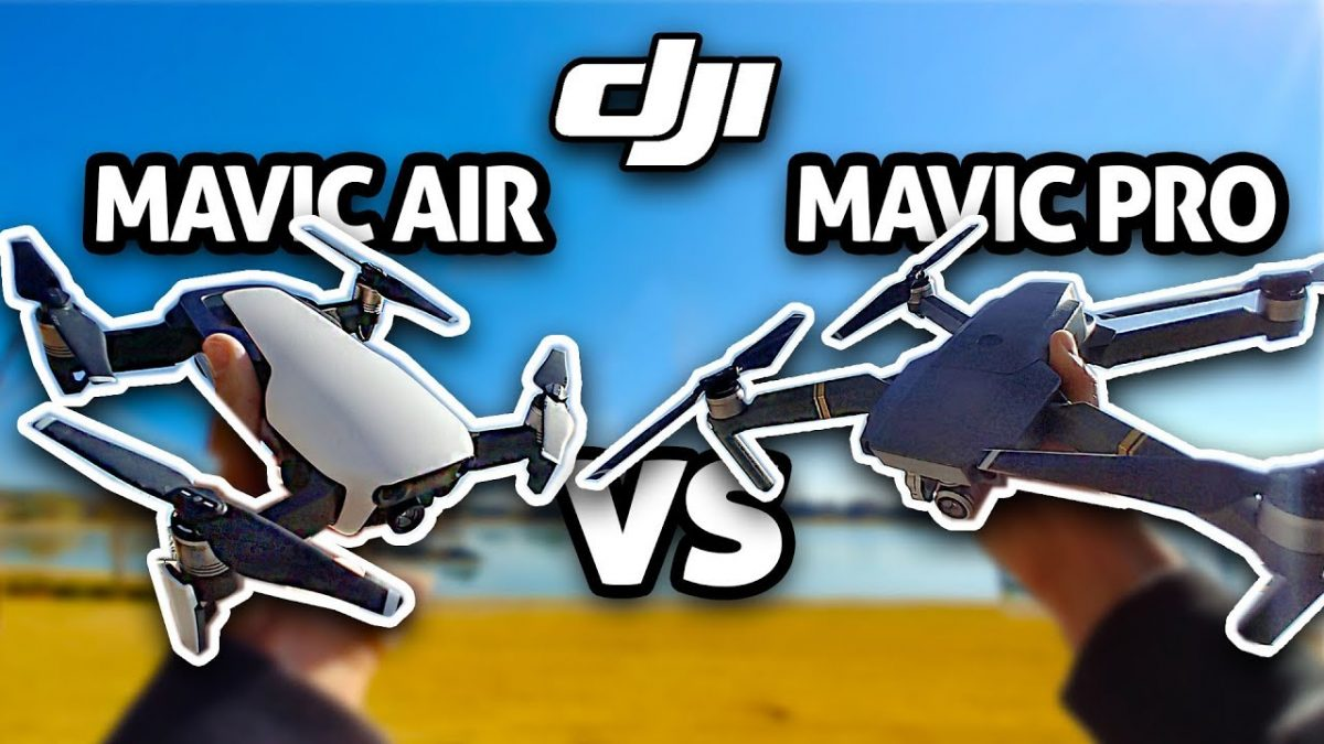 Mavic Air vs Mavic Pro 画質の比較は一見の価値あり!