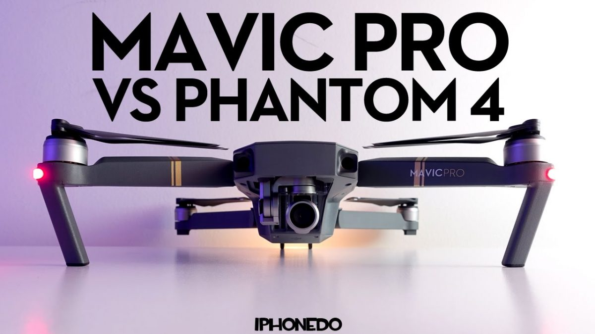 Mavic Pro vs Phantom 4の一騎打ち!衝撃の結末を御覧下さい!