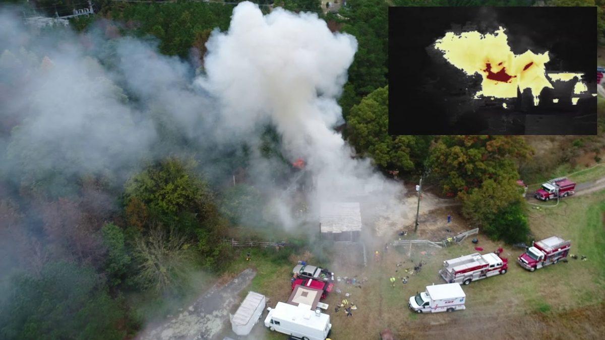 空撮+ドローンの活用事例:山火事発生時に赤外線イメージ撮影を行なうMatrice 210が頼もしい!