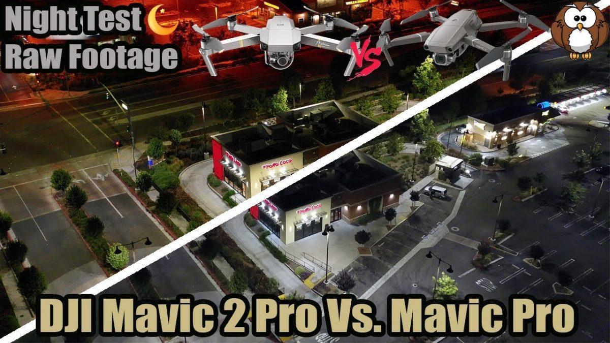 夜景を撮るならどっち!?Mavic ProとMavic 2 Proの夜景比較!