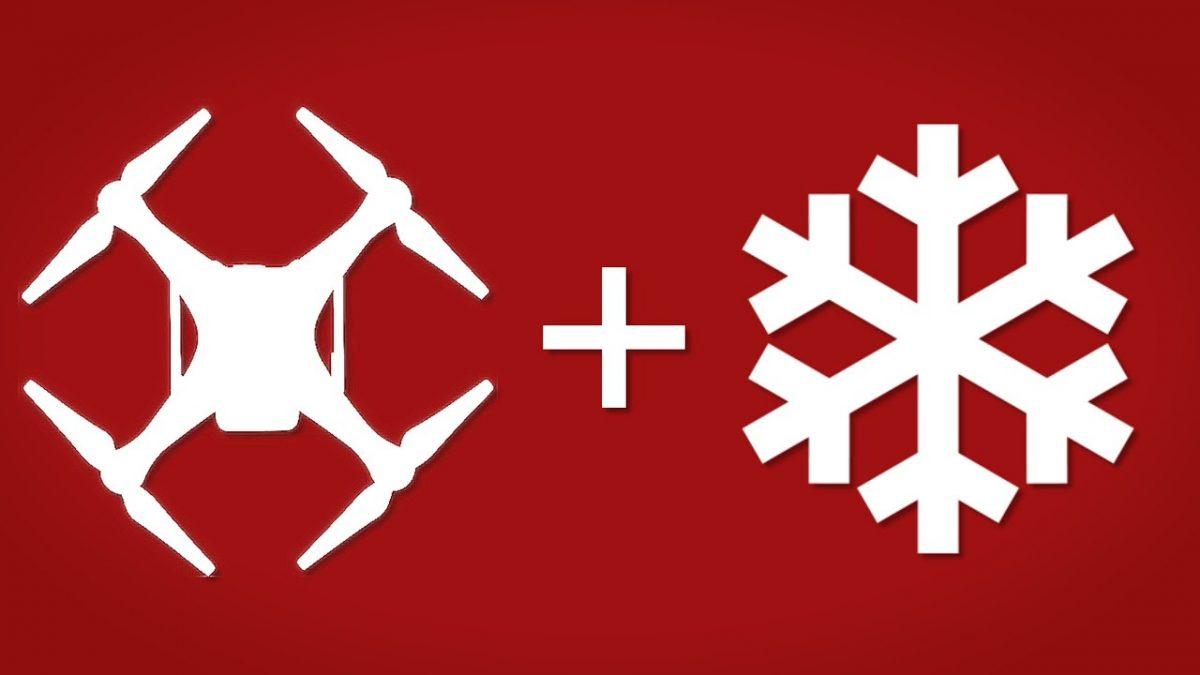 チュートリアル:寒い日にドローンを飛ばす際、気を付けたい6項目!