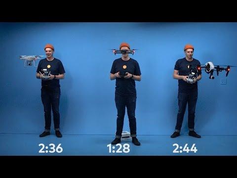 ここまで違う!?ドローン3機種を開封から飛ばすまで計測した動画が面白い!