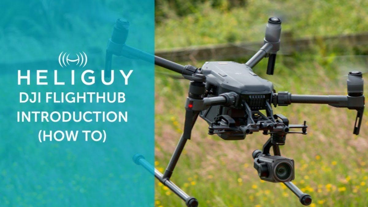 複数のドローンのモニタリングも可能!DJI FlightHubのチュートリアル!