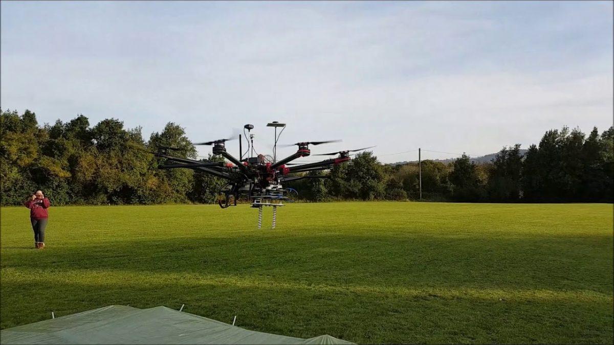 調査+ドローンの活用事例:地雷を容易に発見!Matrice 600に搭載したレーダーの技術が想像以上!
