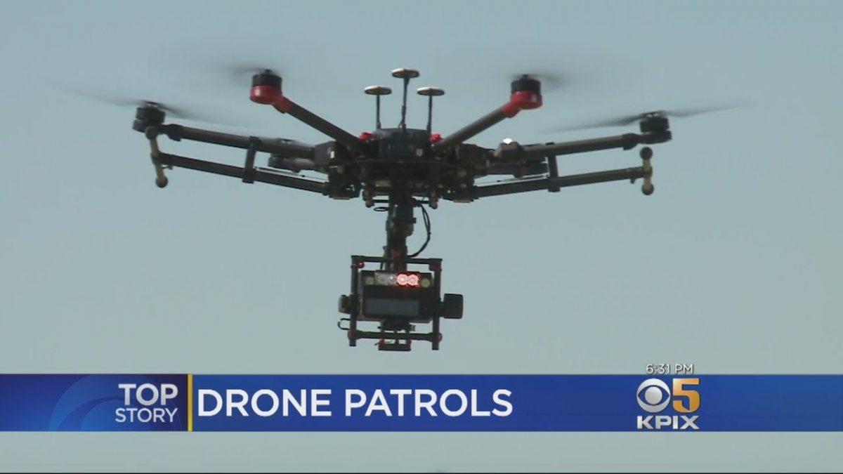 警備+ドローンの活用事例:犯罪を未然に防げ!米警察が監視業務にMatrice 600を導入!
