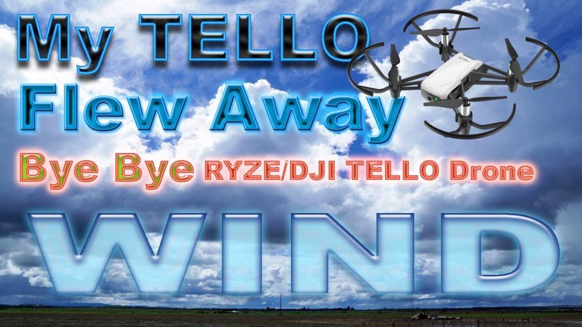 悲惨!フライアウェイしたTelloが回収されるまでの一部始終!