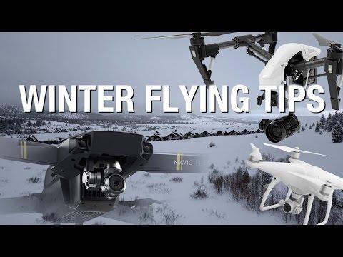 チュートリアル:冬にドローンを飛ばす際、気をつけたい6個の注意点!