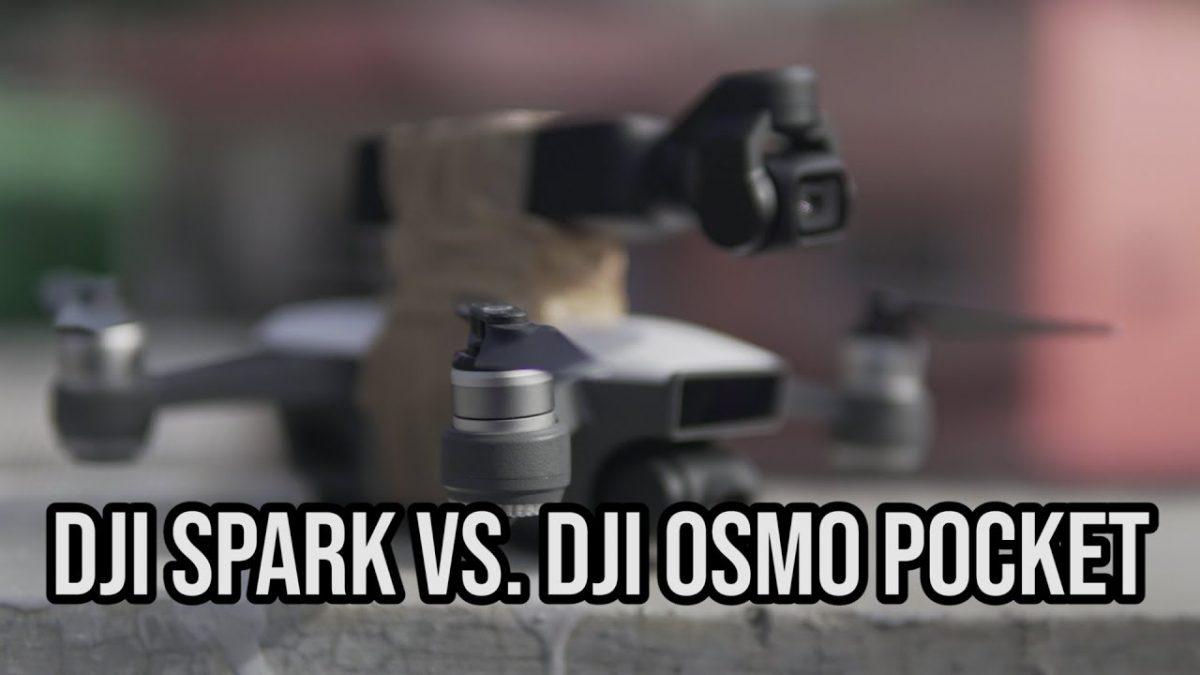 機能と画質をガッツリ比較!Spark vs Osmo Pocketの意外な違いとは!?