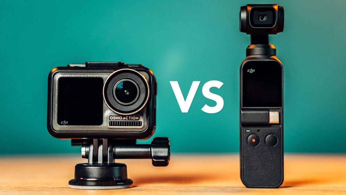 Osmo Action vs Osmo Pocket!9つのポイントから機能比較してみた!