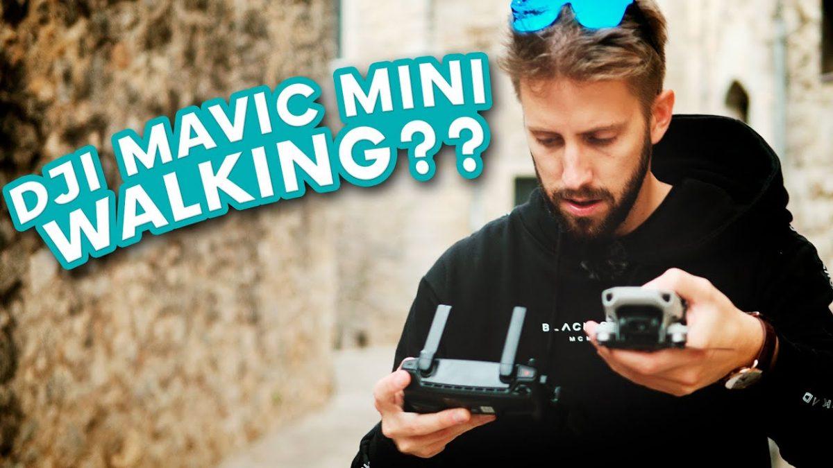 果たしてMavic Miniは手持ちジンバルの代替になり得るか!?
